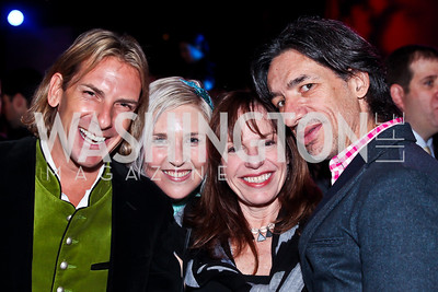 Marc Cipullo, Kate Damon, Carole Feld, Septime Webre. Photo by Tony Powell. YGL. Arena Stage. December 17, 2012