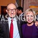 Dr. Alan Greenspan and Andrea Mitchell. Kati Marton?s