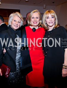 Jane Harman, Betty Ann Tanner, Bonnie Osher. Photo by Tony Powell. Surviving Grace. Phillips Collection. October 10, 2012