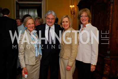 Jill Udall,,Richard Jones,Betty Ann Tanner,Bobbi Barrasso,May 14,2012,Reception at the Residence of the Portugese Ambassador for a  Performance of Fado Music,Kyle Samperton