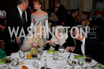 Princess Selene Obolensky,Gertrude D'Amecourt,Guy D'Amecourt,January 13,2012,The 42nd Russian New Year's Eve Ball,Kyle Samperton