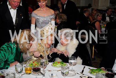 Princess Selene Obolensky,Gertrude D'Amecourt,January 13,2012,The 42nd Russian New Year's Eve Ball,Kyle Samperton