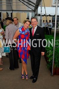 Tina Alster,Paul Fraser,May 23,2012,Tudor  Place Garden Party,Kyle Samperton