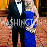 Chris Rothstein, Kirsten Good. Photo by Tony Powell. 2013 CNMC Ball. Building Museum. May 11, 2013