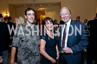 Olivier and Nora Pouillon, Dennis Arfmann. Photo by Tony Powell. 4th Annual Climate Leadership Gala. Mayflower Hotel. May 22, 2013