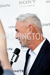 """Director Roland Emmerich. Photo by Tony Powell. """"White House Down"""" red carpet. AMC Loews Georgetown. June 22, 2013"""