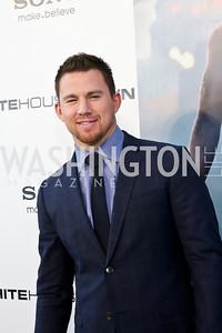 "Channing Tatum. Photo by Tony Powell. ""White House Down"" red carpet. AMC Loews Georgetown. June 22, 2013"