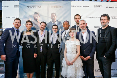 """Photo by Tony Powell. """"White House Down"""" red carpet. AMC Loews Georgetown. June 22, 2013"""