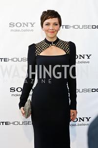 "Maggie Gyllenhaal. Photo by Tony Powell. ""White House Down"" red carpet. AMC Loews Georgetown. June 22, 2013"