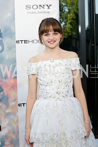 """Joey King. Photo by Tony Powell. """"White House Down"""" red carpet. AMC Loews Georgetown. June 22, 2013"""