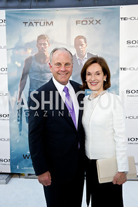 """Mack and Donna McLarty. Photo by Tony Powell. """"White House Down"""" red carpet. AMC Loews Georgetown. June 22, 2013"""