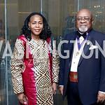 Niger Amb. Hassana Alidou, Ghana Amb. Lt. Gen. Joseph Henry Smith. Photo by Tony Powell. 2016 Ambassadors Ball. Marriott Marquis. September 13, 2016