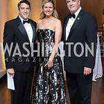 James Rosen and Sara Durkin-Rosen, Rep. Dan Kildee. Photo by Tony Powell. 2016 Ambassadors Ball. Marriott Marquis. September 13, 2016