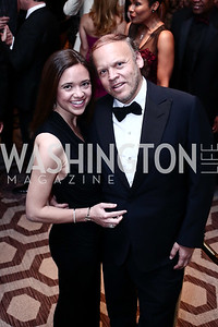 Sally and Mark Ein. Photo by Tony Powell. 2016 Children's Ball. Ritz Carlton. April 15, 2016