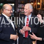 Saudi Amb. Abdullah Al Saud, Walter and Didi Cutler. Photo by Tony Powell. 2016 ISH Global Leadership Dinner. ISH. September 8, 2016