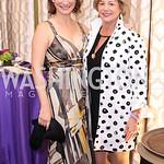 Jenny McGihon, Lisa Koches. Photo by Tony Powell. 2016 Hisaoka Gala. Omni Shoreham. September 17, 2016