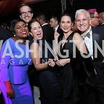 Deesha Dyer, Lee Satterfield, Luciana Gonzalez-Revilla, Patrick Steele. Photo by Tony Powell. 2016 Meridian Ball. October 14, 2016