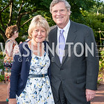 Christine Vilsack and Secretary of Agriculture Tom Vilsack. Photo by Tony Powell. 2016 National Arboretum Dinner. June 13, 2016