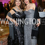 Opera Ball Co-Chair Samia Farouki, Abla Khoursheed. Photo by Tony Powell. 2016 Opera Ball. OAS. May 21, 2016