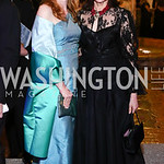 Huberta Wittig, Alexandra de Borchgrave. Photo by Tony Powell. 2016 Opera Ball. OAS. May 21, 2016