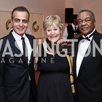 Qatar Amb. Mohammed Al Kuwari, Lynne Horning, David Driskell. Photo by Tony Powell. 2016 Phillip