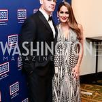 John Cena, Nikki Bella. Photo by Tony Powell. 2016 USO Annual Awards Dinner. April 19, 2016
