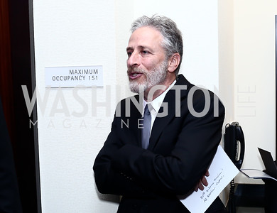 Jon Stewart. Photo by Tony Powell. 2016 USO Annual Awards Dinner. April 19, 2016