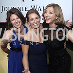 MSNBC political Correspondent Kasie Hunt, NBC News Correspondent Katy Tur, NBC News Senior White House Correspondent Chris Jansing. Photo by Tony Powell. 2016 WHCD MSNBC After Party. Inst. o ...