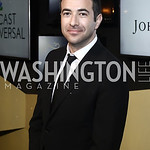 MSNBC Chief Legal Correspondent Ari Melber. Photo by Tony Powell. 2016 WHCD MSNBC After Party. Inst. of Peace. April 30, 2016