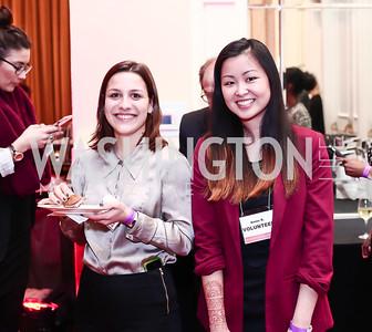 Lara Picanco, Annie Roebuck. Photo by Tony Powell. 2016 Women Making History Awards. Mayflower Hotel. March 14, 2016