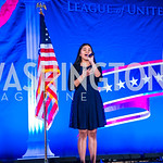 Samantha Rios. Photo by Alfredo Flores. LULAC 20th Annual LULAC National Legislative Awards Gala. Grand Hyatt. February 15, 2017