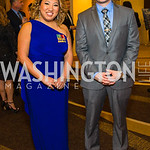 Tracey Campbell, Kevin Zastrow. Photo by Alfredo Flores. LULAC 20th Annual LULAC National Legislative Awards Gala. Grand Hyatt. February 15, 2017