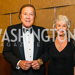 Tom Flores, Barbara Flores. Photo by Alfredo Flores. 20th Annual LULAC National Legislative Awards Gala. Grand Hyatt. February 15, 2017