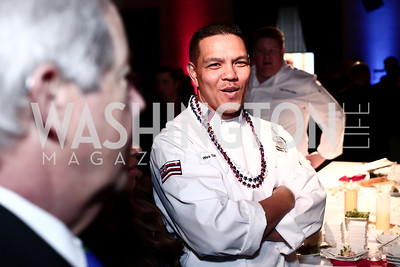 Senior Chief Wes Tavares. Photo by Tony Powell. 6th Annual Blue Star Neighbors Gala. Chamber of Commerce. April 7, 2016