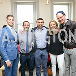 Jonathan Smolley, Zach Bronson, Ajay Kori, Andrea Harris, Eric Schulze. Photo by Ben Droz. White House Correspondents
