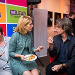 Dana Bash, Jay Roach. CNN Political Hangover. Photo by Joy Asico. Long View Gallery. May 1, 2016