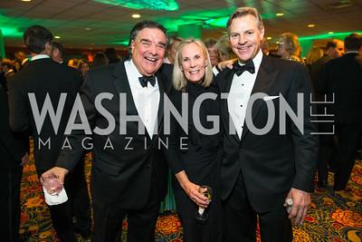 Davis Camalier, Lynda Camalier, James V. Reyes, Photo by Alfredo Flores. Catholic Charities Gala 2016. Washington Marriott Wardman Park Hotel. April 30, 2016