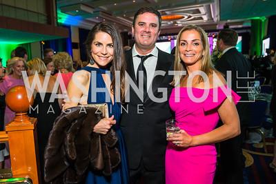 Katelyn Haney, Frank Haney, Kathleen Callahan. Photo by Alfredo Flores. Catholic Charities Gala 2016. Washington Marriott Wardman Park Hotel-3.CR2