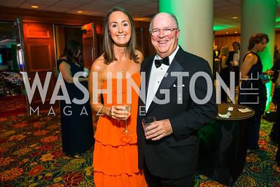 Grace Weisser, Paul McNamara. Photo by Alfredo Flores. Catholic Charities Gala 2016. Washington Marriott Wardman Park Hotel.CR2