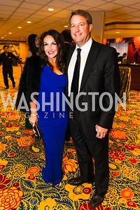 Jennifer Whipp, David Whipp. Photo by Alfredo Flores. Catholic Charities Gala 2016. Washington Marriott Wardman Park Hotel. April 30, 2016