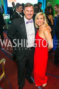 Chris Cresswell, Jocelyn Cresswell. Photo by Alfredo Flores. Catholic Charities Gala 2016. Washington Marriott Wardman Park Hotel-3.CR2