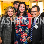 Robin Ganzert, Summer Robertson, Rep. Gus Bilirakis. Photo by Alfredo Flores. Fifth Annual Memorial Day Kick-Off and Tribute to Veterans and Veterans with Congress. Capitol Hill Club. May 24 ...
