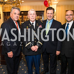 Rep. Peter King, Colonel James Tiernery, Anthony Kearns, Jon Laird. Photo by Alfredo Flores. Fifth Annual Memorial Day Kick-Off and Tribute to Veterans and Veterans with Congress. Capitol Hi ...