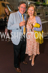 Thomas Blanton, Svetlana Savranskaya. Photo by Alfredo Flores. Fifth Annual Symposium of The Carmel Institute — U.S., Russia and The International Space Station, Partners in Orbit. Smithsonian's National Air and Space Museum. April 19, 2016.