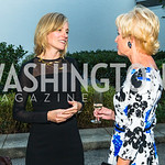 Ulla Rønberg, Kathy Kemper. Photo by Alfredo Flores. Innovating Through Business Partnerships 2016 reception. Embassy of Denmark. September 27, 2016