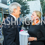 Stuart Bernstein, Laurie Fulton, . Photo by Alfredo Flores. Innovating Through Business Partnerships 2016 reception. Embassy of Denmark. September 27, 2016
