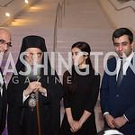 Aris Vlachos, His Eminence Archbishop Demetrios, Nadia Murad, Murad Ismael