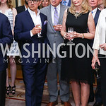 Vice President Joe Biden Residence Manager and Social Secretary Carlos Elizondo, Mark Dumas, Rhona Wolfe Friedman and Donald Friedman. Photo by Tony Powell. Septime's Farewell. Residence of  ...