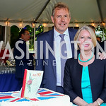 Britain Amb. Sir Kim Darroch and Lady Darroch. Photo by Tony Powell. The Queen
