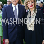 Egypt Amb. Yasser Reda and Nahla Reda. Photo by Tony Powell. The Queen